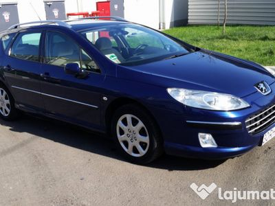brugt Peugeot 407 SW, 2.0 HDIF 16V 136CP, Automata