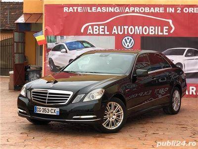 second-hand Mercedes E220 2.2 CDi 170 Cp An 2012 Pachet AMG
