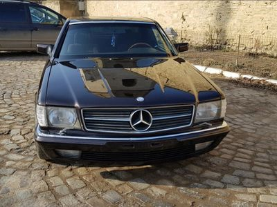 second-hand Mercedes S500 w126 sec coupe 1983 atestat istoric unic propr