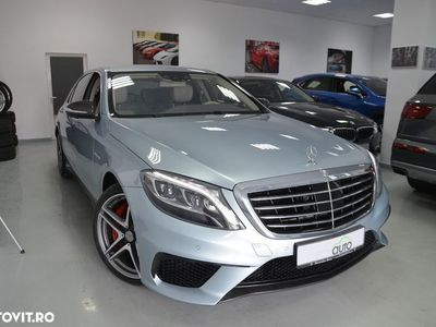 second-hand Mercedes S63 AMG