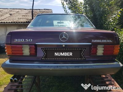 second-hand Mercedes 300 w126TD