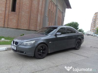 second-hand BMW 525 d E60 6cilindri UK inmatriculat recent RO (unic propr