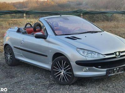 second-hand Peugeot 206 CC Cabrio 1.6i 109cp Climatronic