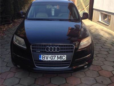 second-hand Audi Q7 2007-unic proprietar