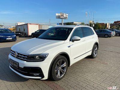 second-hand VW Tiguan R-LINE 2.0 TDI DSG 4X4, 150 CP 2018