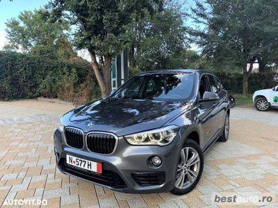 second-hand BMW X1 XDrive // 2.0d 150 CP // Distronic Plus // Camera Marsharier // Pilot Automat .