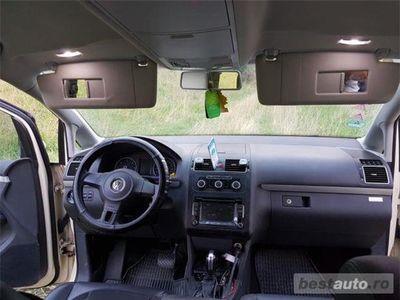brugt VW Touran 1.6 TDI cutie DSG 7 trepte consum mic