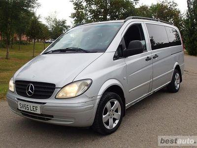 second-hand Mercedes Vito 115 CDi - 7=1 locuri - climatronic