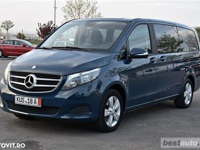 brugt Mercedes V220 // 2.2 CDI 163 CP // Navigatie Mare 3D // Touchpad // Santiago Black Luxury Comb