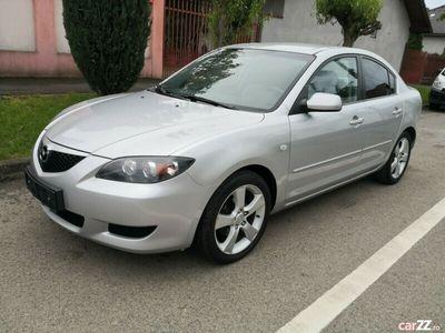 second-hand Mazda 3 1.6 Benzina 105 Cp Euro 4 an 2005 model Limuzina