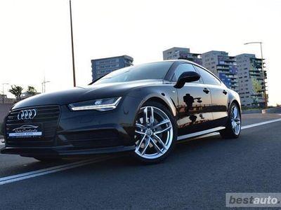second-hand Audi A7 S-Line // 3.0 TDi 320 CP // Camere 360 Grade // Distronic Plus // Interior de A8 .
