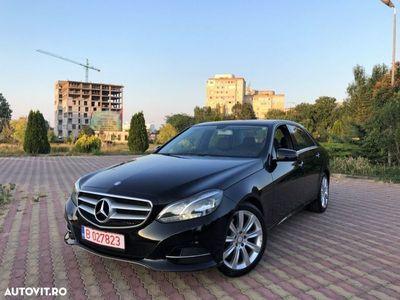 second-hand Mercedes E250 4MATIC // 2.2 CDi 204 CP // Navigatie Mare 3D // Led-uri Fata/Spate .