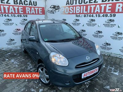 second-hand Nissan Micra 2012-automata-benzina-euro 5-rate-