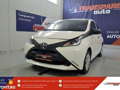 second-hand Toyota Aygo din 2017