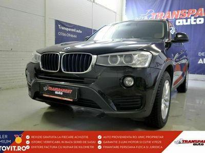 second-hand BMW X3 2015 Automată, motor Diesel 190 CP, 113.278 km, SUV