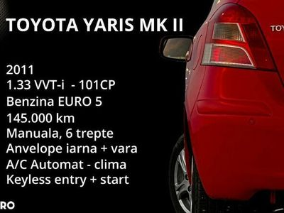 second-hand Toyota Yaris 1.33