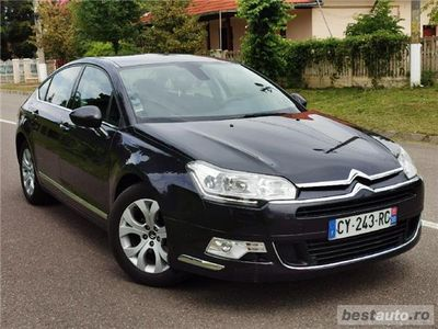 used Citroën C5 berlina 2013 impecabila 2.0 diesel / navi / semi piele / led / crom / clima / jante