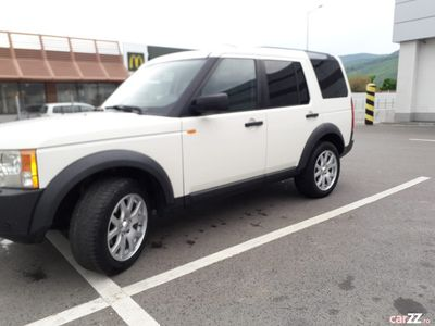 second-hand Land Rover Discovery 3 editie limitata-alb-50.000km