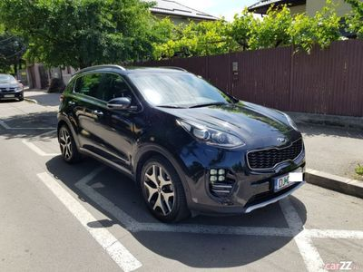 second-hand Kia Sportage GT, AT, 4X4, full options,1 proprietar
