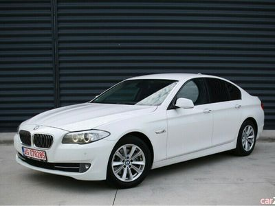 second-hand BMW 520 F10 D 185 CP 2011 * Cutie SMG * NAVI * Padele * Piele