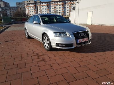 second-hand Audi A6 facelift 2010 automat 170 cp interior piele euro 5