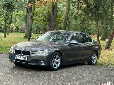 second-hand BMW 320 d, 04.2015, piele crem, 125000 reali