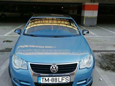 second-hand VW Eos CABRIO 2008 1.6 .fsi/85 kW, culoare Albastru