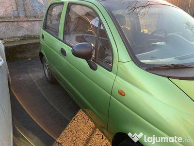 second-hand Chevrolet Matiz culoare verde