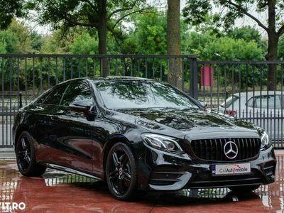second-hand Mercedes E200 2019 2.0 Benzină 184 CP Automată, 44.848 km, Coupe