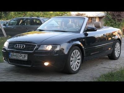 second-hand Audi A4 Cabriolet - an 2003, 2.5 tdi
