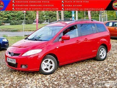 used Mazda 5 - 7 LOCURI - 2007 - EURO 4 - vanzare in RATE FIXE cu avans 0%.