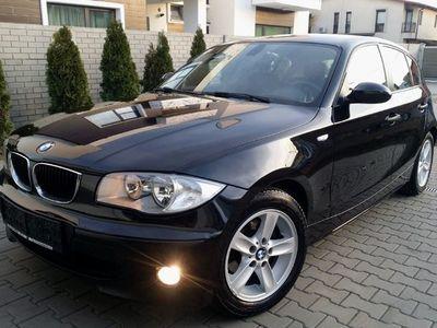 second-hand BMW 116 Climatronic Jante Vara+Set roti Iarna acum adus