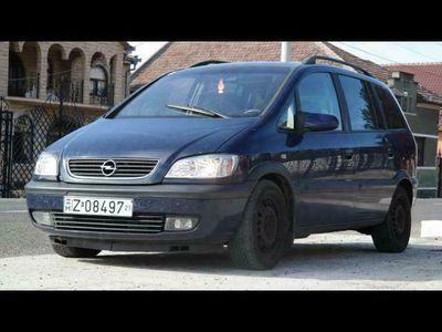second-hand Opel Zafira 7 Locuri - an 2004, 2.0 Dti (Diesel)
