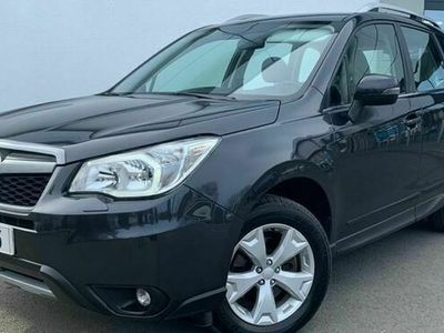 second-hand Subaru Forester 2.0X