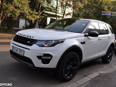 second-hand Land Rover Discovery Sport din 2017