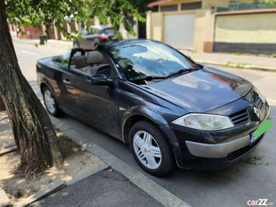 second-hand Renault Mégane Cabriolet 1.6i clima, totul functioneaza perfect