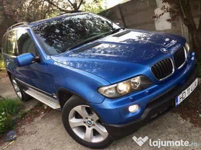 second-hand BMW X5 4x4 3.0D an 2006 panoramic