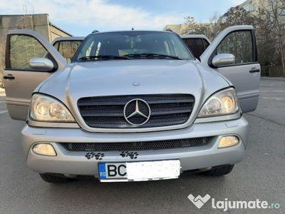 second-hand Mercedes ML270 inspiration dotari de top extra full luxury