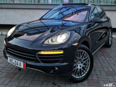 second-hand Porsche Cayenne 2013 3.0Tdi 245Cp Piele Crem/Perne Aer/Panor