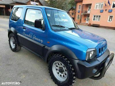 second-hand Suzuki Jimny 4x4 cuplaj la maneta,