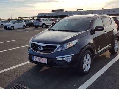 second-hand Kia Sportage negru 1.7diesel 4X2 consum mediu mic 6% cu GARANTIE 2020
