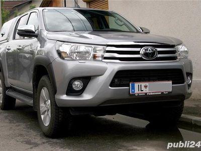 second-hand Toyota HiLux 2019, hard-top, +4500 extra optiuni originale, firma, TVA, garantie