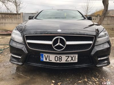 second-hand Mercedes CLS250 Amg volan dreapta