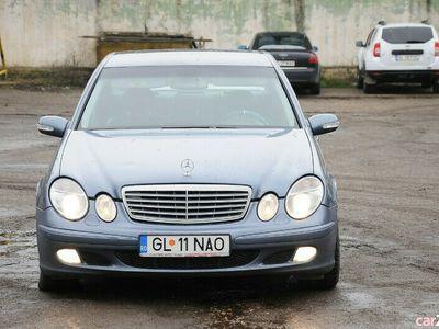 second-hand Mercedes E220 2003 2.2CDi clima piele, proprietar fiscal