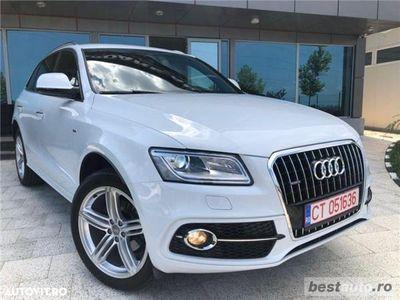 second-hand Audi Q5 S-Line Plus // 2.0 TDi 190 CP // Navigatie Mare 3D // Led-uri Fata/Spate //Porbagaj Electric