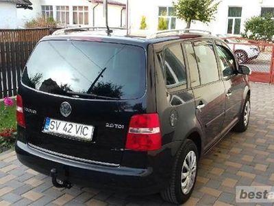 second-hand VW Touran 7 locuri