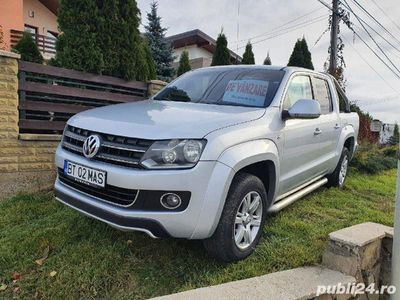 second-hand VW Amarok Highline, an 2011