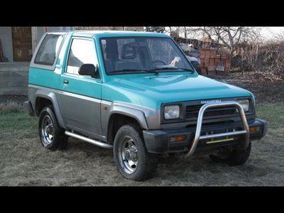 second-hand Daihatsu Rocky 4x4 CABRIO cu Hardtop - an 1992, 1.6 (Benzi