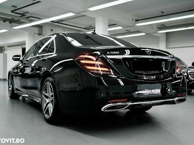 second-hand Mercedes S560