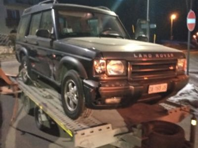 second-hand Land Rover Discovery td5